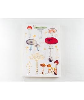 日本進口 插畫素材圖鑑系列書冊 - 蘑菇 ( 100 WRITING & CRAFTING PAPERS OF MUSHROOMS )