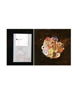日本進口 倉敷意匠計畫室 打孔加強貼紙 ( 45401-02 )