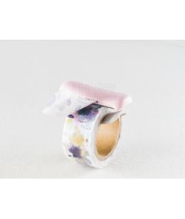 日本進口  KOKUYO Karu Cut紙膠帶專用切割器 - 粉紅 ( T-SM401LP ) , 適用20~25mm