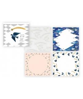 日本進口 表現社 西淑nishishuku 和紙便箋 - 飛鳥 ( 22-365 )