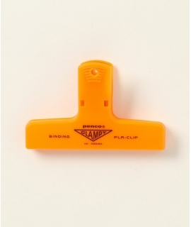 日本進口 Penco 復古塑膠山型夾 系列 - 橘色 ( DP163-OR )