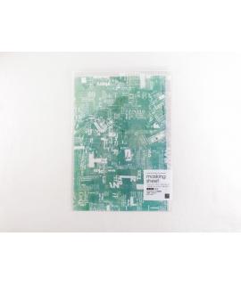 日本進口 山櫻和紙貼紙 小徑 x 夏米花園系列 - 拼貼 Collage ( MTK-CH301 )