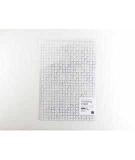 日本進口 山櫻和紙貼紙 小徑 x 夏米花園系列 - 胡粉 Gofun ( MTK-CH303 )