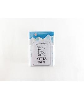 日本進口 KING JIM KITTA 鋁製手帳標籤貼紙收納盒 - 山 ( KIT-C02 )