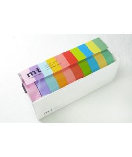日本進口和紙膠帶 Mt 2013 Summer 10色套組 - 明色 ( MT10P003 )