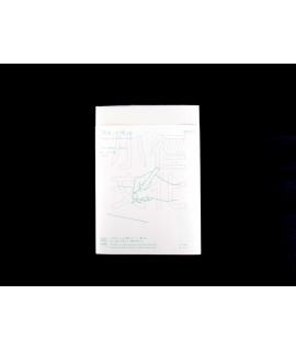 日本進口 MIDORI MD A5筆記本日誌 - 虛線網格 ( 15259006 ),附索引貼紙