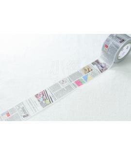 日本進口和紙膠帶 mt 2013ss ex 系列 - 英字新聞 ( MTEX1P75 )