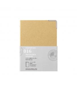 日本進口 Traveler's Notebook 旅人筆記本_護照尺寸補充系列 - 補充本收納夾 ( 14407006 )