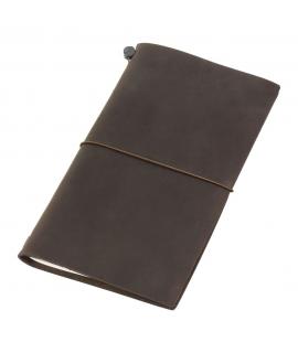 日本進口 Traveler's Notebook 旅人筆記本_標準尺寸 - 棕色 ( 13715006 )