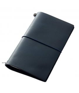 日本進口 Traveler's notebook 旅人筆記本_標準尺寸 - 藍 ( 15239006 )