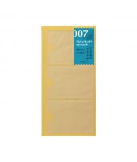 日本進口 Traveler's Notebook Refill 旅人筆記本_標準尺寸補充系列 - 名片套(14301006)