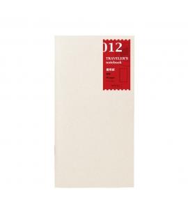 日本進口 Traveler's Notebook Refill 旅人筆記本_標準尺寸補充本 - 可撕式圖畫紙 ( 14286006 )