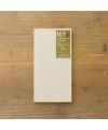 日本進口 Traveler's Notebook Refill 旅人筆記本_標準尺寸補充本 - 輕量紙質 ( 14287006 )