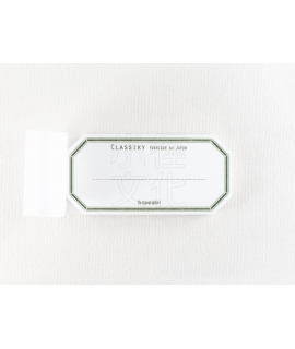日本進口 倉敷意匠計畫室 凸版印刷便簽系列 - 水糊標籤紙_綠 ( 20319-04 )