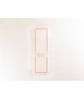 日本進口 倉敷意匠計畫室 凸版印刷便簽系列 - 摺疊便箋卡_赤 ( 20320-04 )