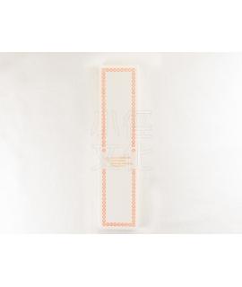 日本進口 倉敷意匠計畫室 凸版印刷便簽系列 - 摺疊便箋卡_橙 ( 20320-05 )