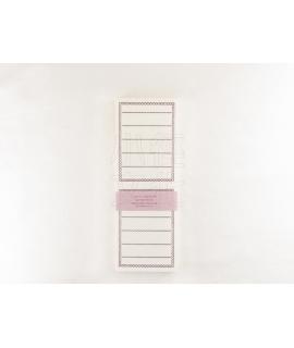 日本進口 倉敷意匠計畫室 凸版印刷便簽系列 - 摺疊便箋卡_深紫 ( 20320-06 )