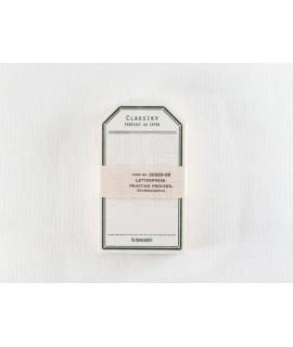 日本進口 倉敷意匠計畫室 凸版印刷便簽系列 - 標籤卡_綠 ( 20320-08 )