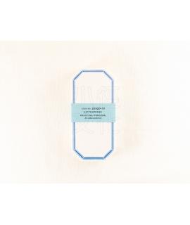 日本進口 倉敷意匠計畫室 凸版印刷便簽系列 - 八角_天空藍 ( 20320-10 )