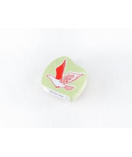日本進口 KODOMO NO KAO x 田口奈津子 聯名 動物木製印章 - 白鴿 ( 1691-001 )
