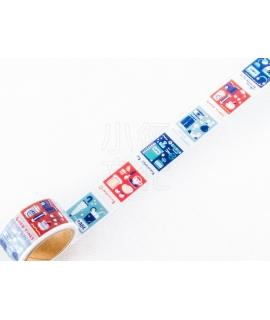 日本進口和紙膠帶 PAPIER PLATZ x eric_smallthings 聯名合作款 - 膠捲底片 ( 37-864 ),箔押