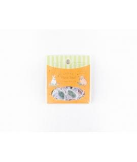 日本進口 Papier Platz x 森山標子 貼紙包 - 我家的兔兔 ( 37-828 )
