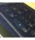 日本進口 九ポ堂 Kyupodo 活版印刷明信片 流星研究室 - 流星燈泡_藍 ( KP-P-BL )