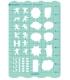 日本進口 VANCO 手帳專用描繪尺 - 感情 ( 39503 )
