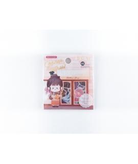日本進口 BGM 和紙貼紙 換裝系列 - 私服 ( BS-FF030 )