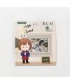 日本進口 BGM 和紙貼紙 換裝系列 - 學生服 ( BS-FF029 )