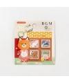 日本進口 BGM 和紙貼紙 換裝系列 - 動物 ( BS-FF028 )