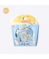 【BGM】日本進口 點心系列  和紙貼紙 - 麵包_小貓 ( BS-FG080 ),箔押