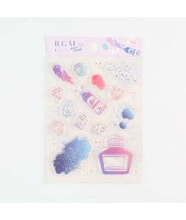 日本進口 BGM 水晶印章 - 幻想圖鑑 ( BT-CS042 )