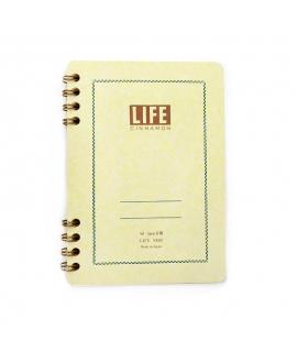 日本進口 LiFE特別抄造紙 筆記本 - 肉桂 ( N620 ),A6_方眼