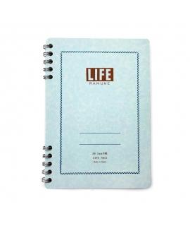 日本進口 LiFE特別抄造紙 筆記本 - 彈珠汽水 ( N612 ),B6_方眼