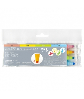 日本進口 吳竹 ZIG CLEAN COLOR DOT 水彩點點筆 - 4色組 ( TC-6100/4V )