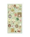 日本進口  Choupinet 珍珠紙箔押系列 貼紙 - 皇室藝術品 ( 80741 )