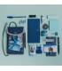 日本進口 2021 Hobonichi ほぼ日手帳 Mokku收納包 - 海軍藍 x 灰色 ( 21-TTC-21-403 )