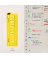 日本進口 Hobonichi ほぼ日手帳描繪尺 - Schedule 行程 ( T-144  )