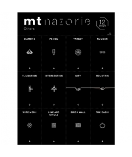 日本進口和紙膠帶 mt nazorie 專用幻燈片 系列 - 特殊圖案 ( MTNZP06 )