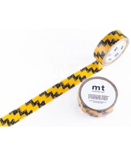 日本進口和紙膠帶 mt x PEANUTS聯名系列 - 查理布朗印花 ( MTPNUT04 )