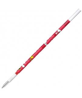 日本進口 斑馬ZEBRA SARASA x 史努比 NJK筆芯0.4mm - 紅色 ( RNJK4-SN2-R )