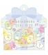 日本進口 San-X 角落生物 可書寫貼紙包 - 夏季花卉 ( SE50205 ),箔押
