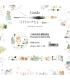 日本進口和紙膠帶 小徑 x 涼丰 / Liang Feng 聯名合作款 Vol.2 - 色彩研究室圖鑑 - 小熊的寫生觀察週記 ( MTW-LF018 )