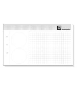 紙膠帶收集卡 可自行裝訂成冊 - MTW-CR001 ( 10張入 )